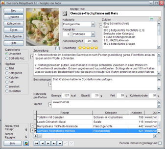 Download Rezeptbuch Version 3.0